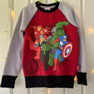 Avengers crewneck sweater